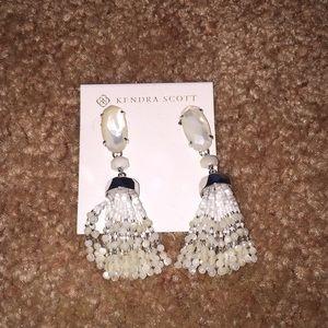 Kendra Scott Jewelry - Kendra Scott white earrings